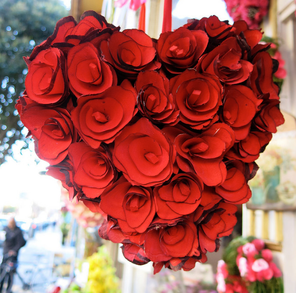 Feb 14th Valentine's Rose Delivery