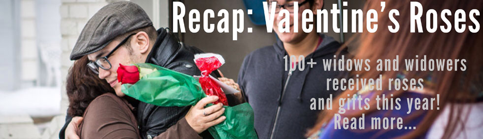 Recap: Widow Wednesday Valentine's Day Rose Delivery