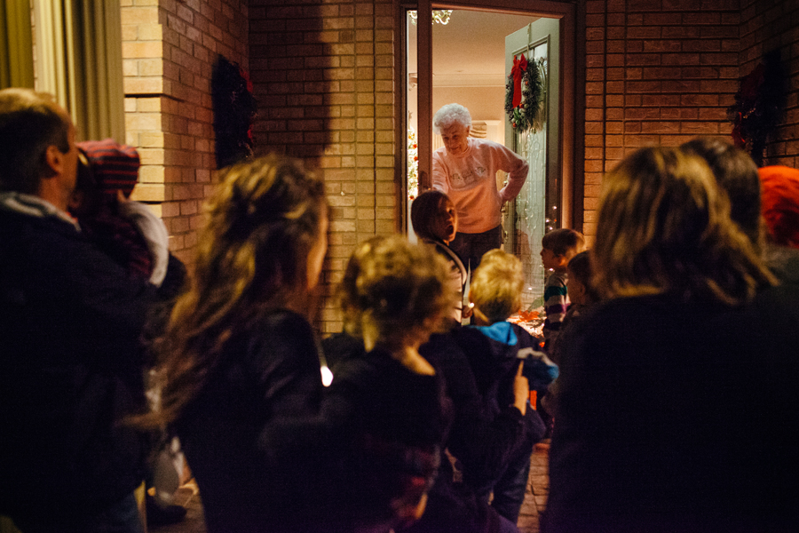 Christmas Caroling 2015
