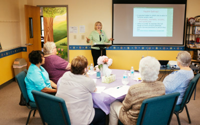 Our first Widow Wednesday Workshop